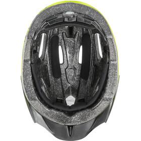 UVEX Quatro Junior Helmet neon yellow/black